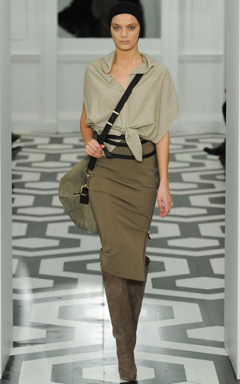 Victoria Beckham Fall Winter 2011 2012 collection Bregje Heinen