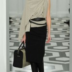 Victoria Beckham Fall Winter 2011 2012 collection Daiane Conterato