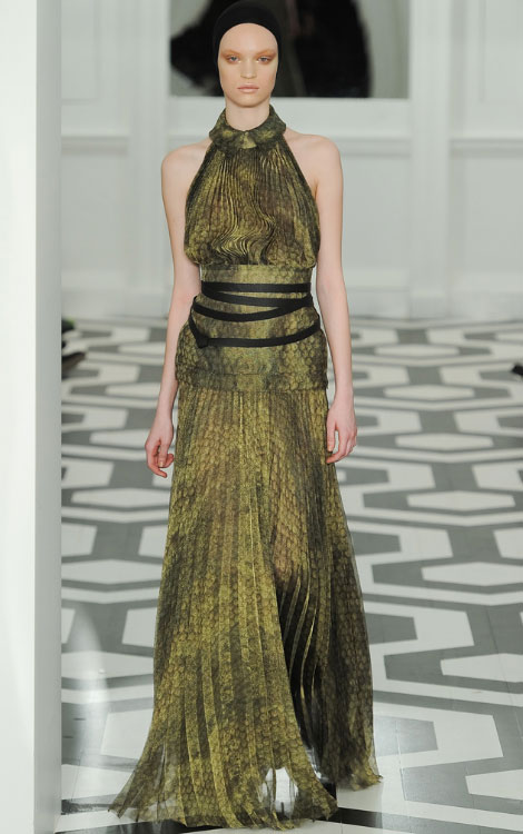 Victoria Beckham Fall Winter 2011 2012 collection Luisa Bianchin