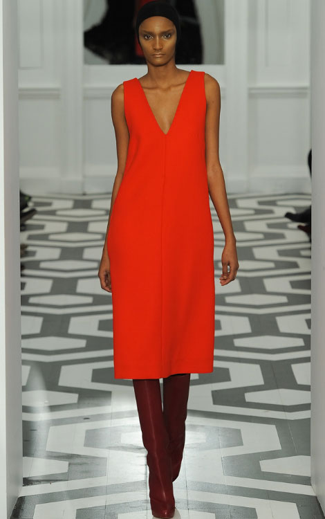Victoria Beckham Fall Winter 2011 2012 collection Rose Cordero