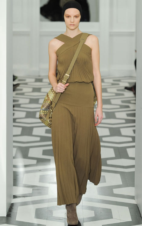 Victoria Beckham Fall Winter 2011 2012 collection Sara Blomqvist