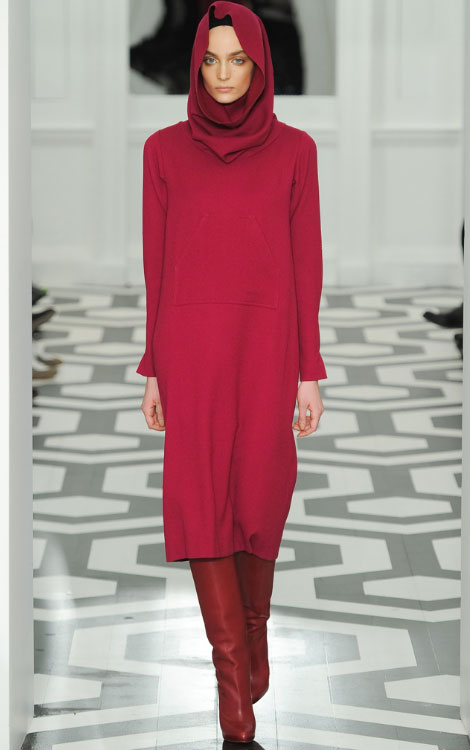 Victoria Beckham Fall Winter 2011 2012 collection Zuzanna Bijoch
