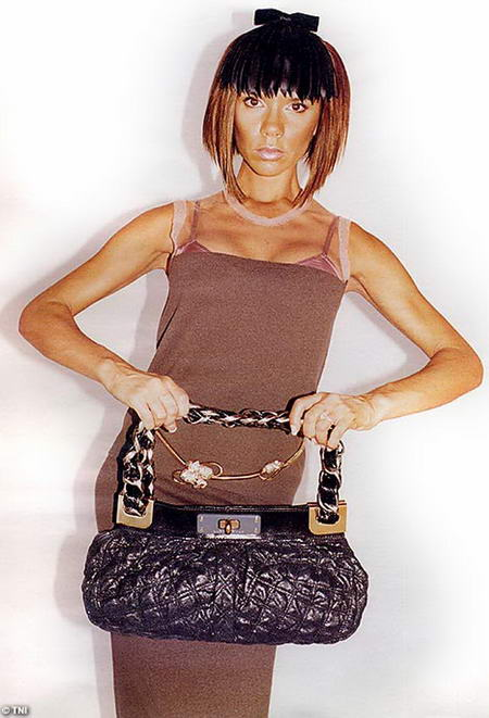 Victoria Beckham for Marc Jacobs Ad Campaign - Crocodile Bag