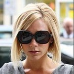 victoria beckham haircut blonde