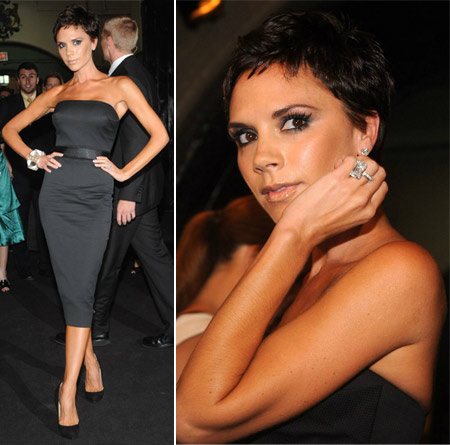 Victoria Beckham New Short Haircut