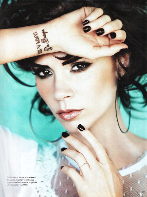 Victoria Beckham Vogue Germany May 2010