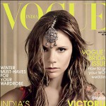 Victoria Beckham for Vogue India November 2008 cover