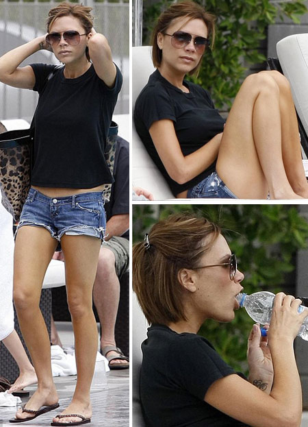 Victoria Beckham Without High Heels