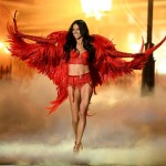 Victoria s Secret 2013 fashion show Adriana Lima red outfit
