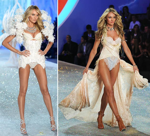 Victoria s Secret 2013 Fashion Show Candice Swanepoel looks