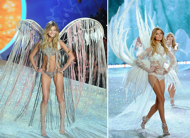 Victoria s Secret 2013 Fashion Show Constance Jablonski wings