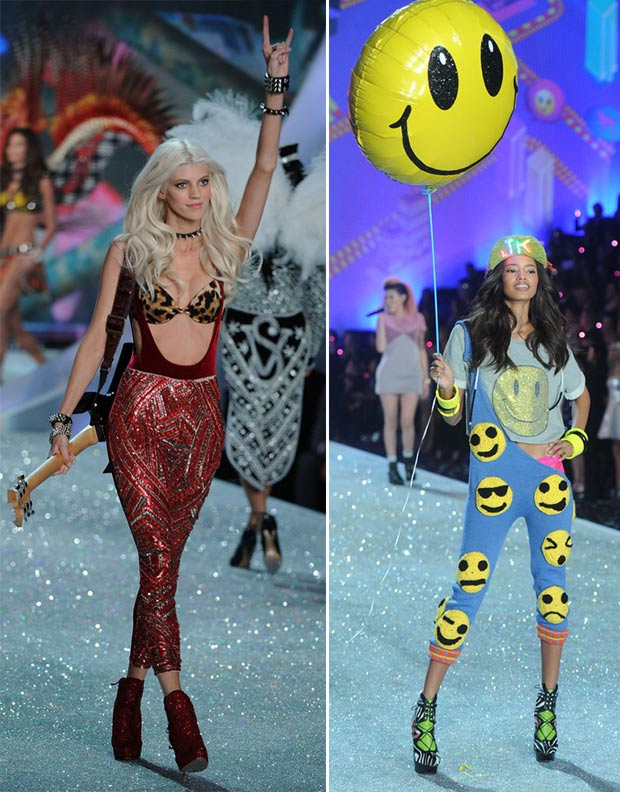 Victoria s Secret 2013 Fashion Show Devon Windsor Malaika Firth