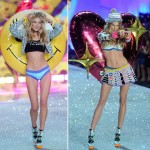 Victoria s Secret 2013 Fashion Show Elsa Hosk Ieva Laguna