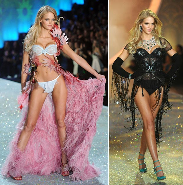 Victoria s Secret 2013 Fashion Show Erin Heatherton looks