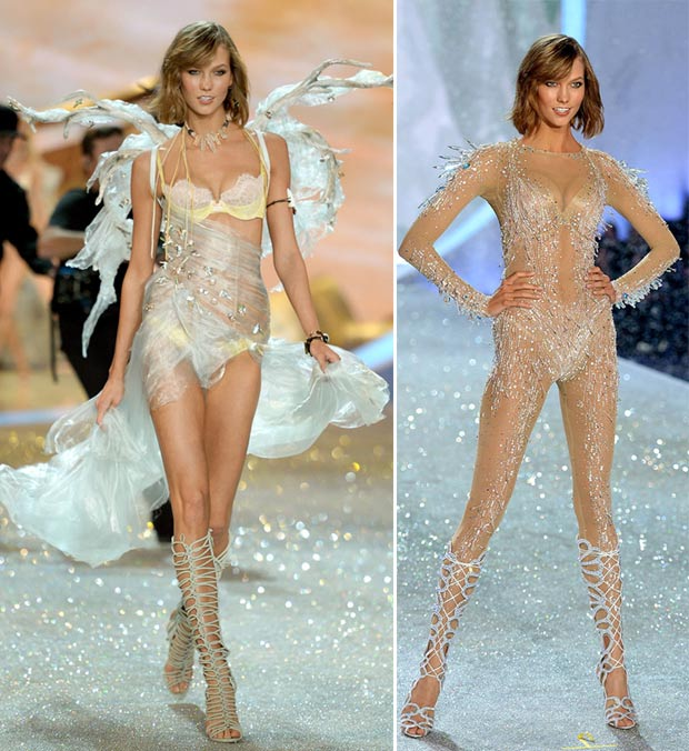Victoria s Secret 2013 Fashion Show Karlie Kloss looks