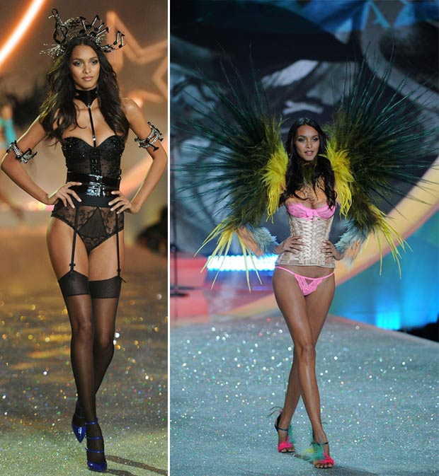 Victoria s Secret 2013 Fashion Show Lais Ribeiro