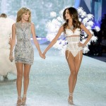 Victoria s Secret 2013 Fashion Show Lily Aldridge Taylor Swift