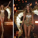 Victoria s Secret 2014 Fashion Show Behati Prinsloo golden wings