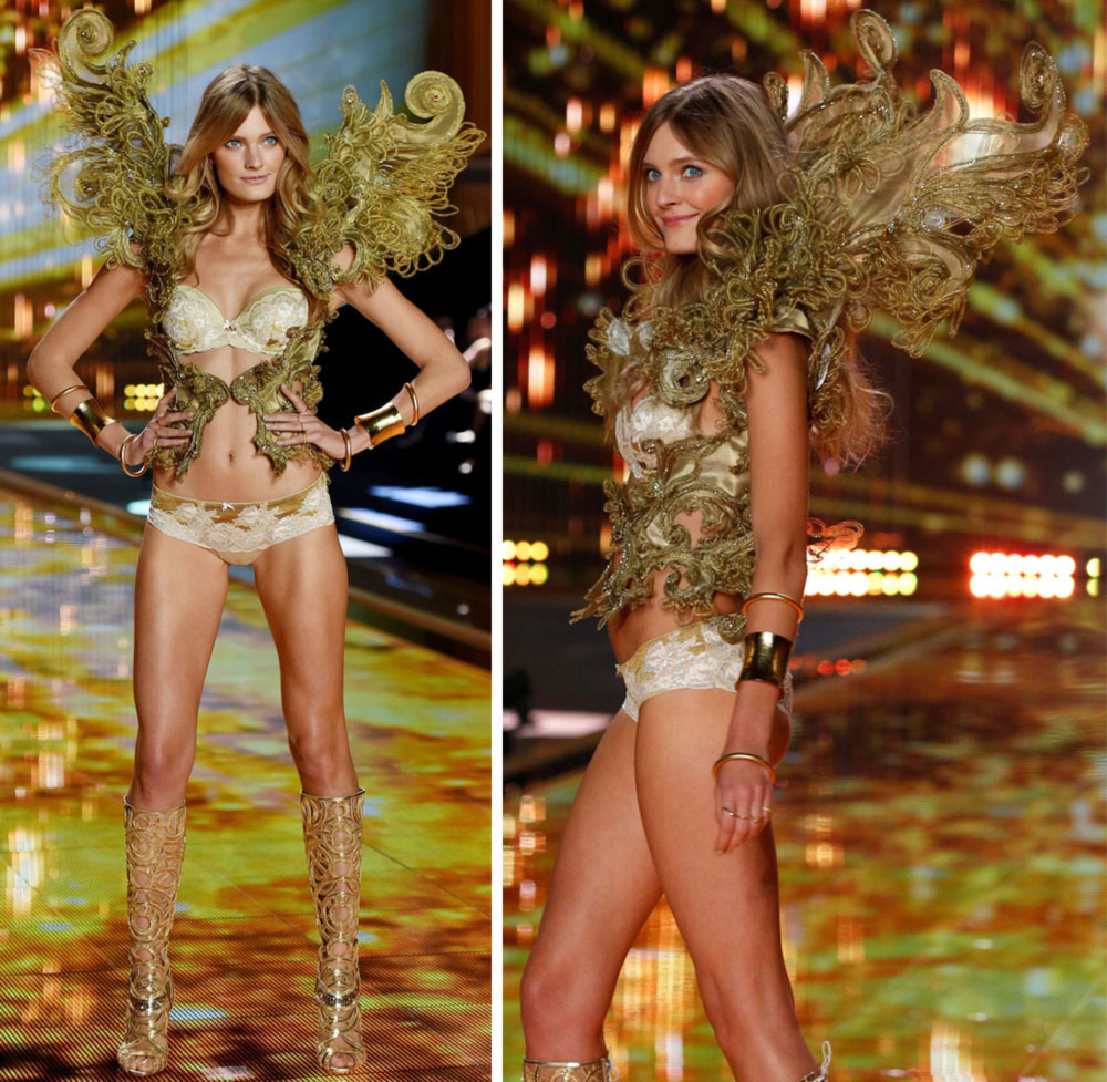 Victoria s Secret 2014 Fashion Show Constance Jablonski wings