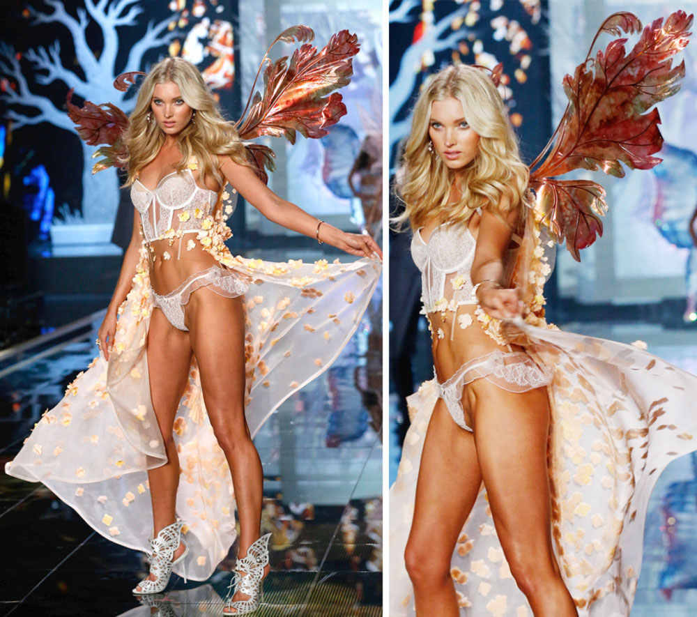 Victoria s Secret 2014 Fashion Show fairy wings