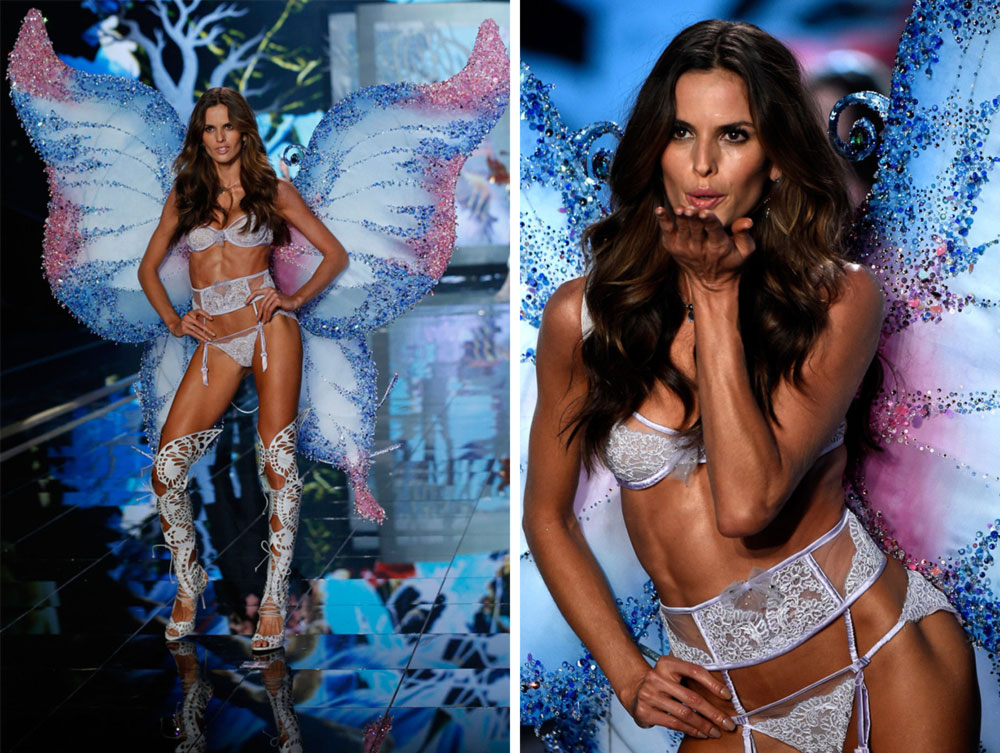 Victoria s Secret 2014 Fashion Show Izabel Goulart wings