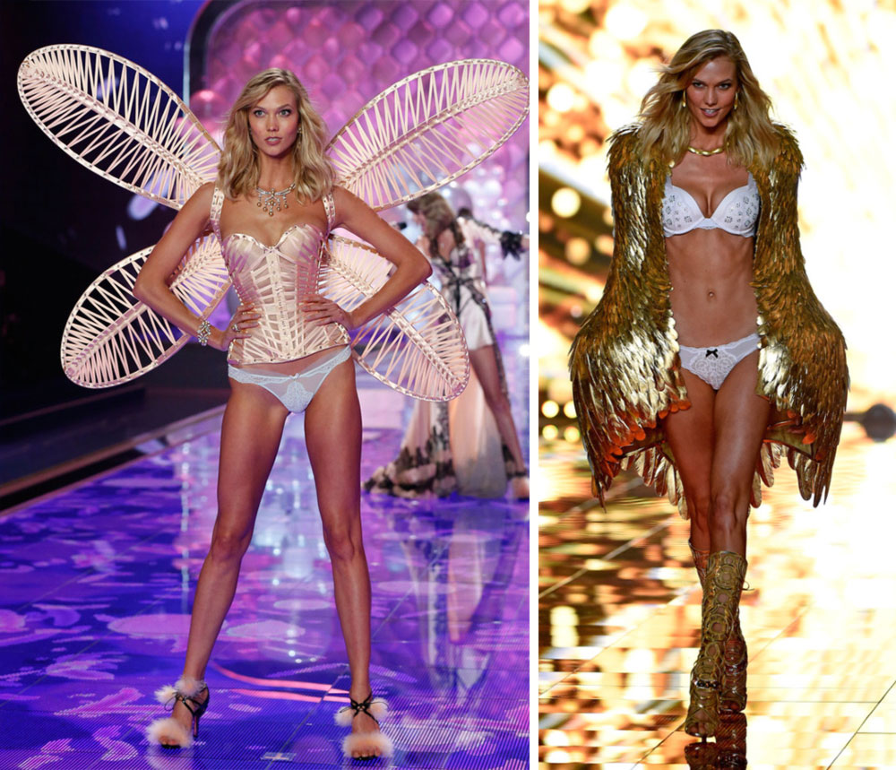 Victoria s Secret 2014 Fashion Show Karlie Kloss wings