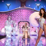 Victoria s Secret 2014 Fashion Show Lily Aldridge budoir wings