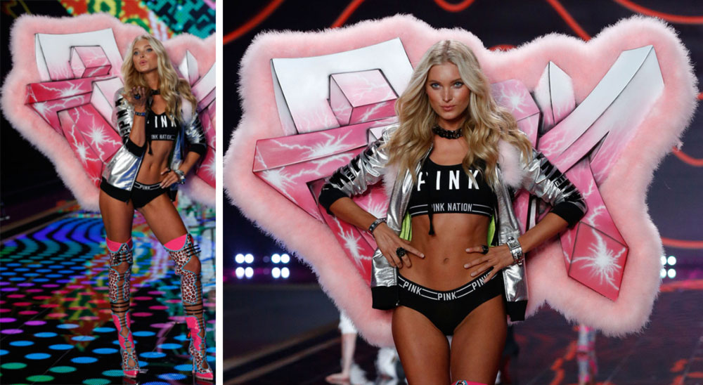 Victoria s Secret 2014 Fashion Show pink wings