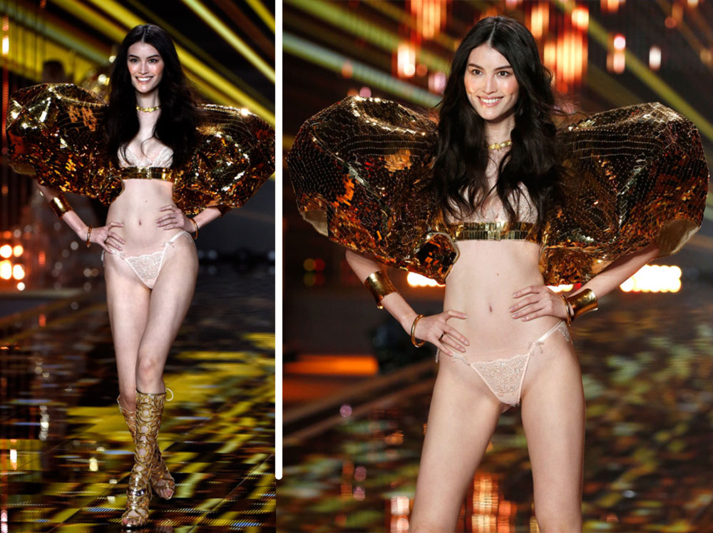 Victoria s Secret 2014 Fashion Show Sui He