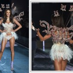 Victorias Secret 2015 Fashion Show Alessandra Ambrosio wings crystals