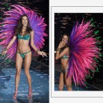 Victorias Secret 2015 Fashion Show Alessandra Ambrosio wings fireworks