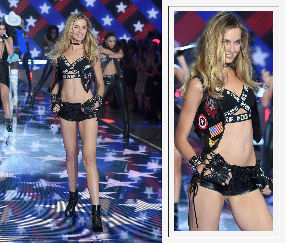 Victorias Secret 2015 fashion show Bridget Malcom
