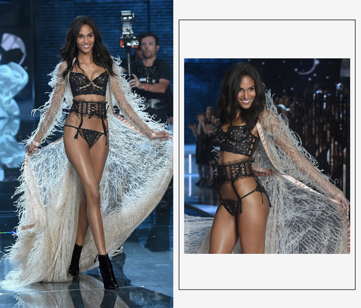 Victorias Secret 2015 fashion show Cindy Bruna