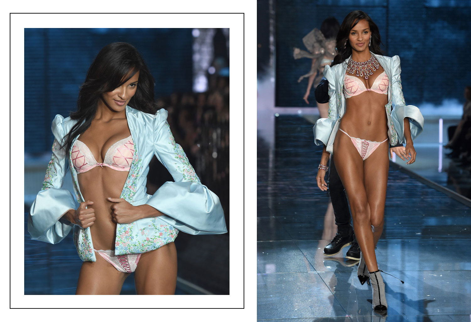 Victoria s Secret 2015 fashion show Gracie Calvalho