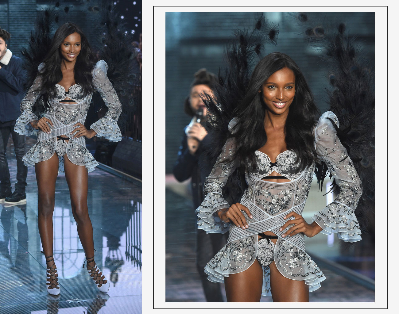 Victorias Secret 2015 fashion show Jasmine Tookes