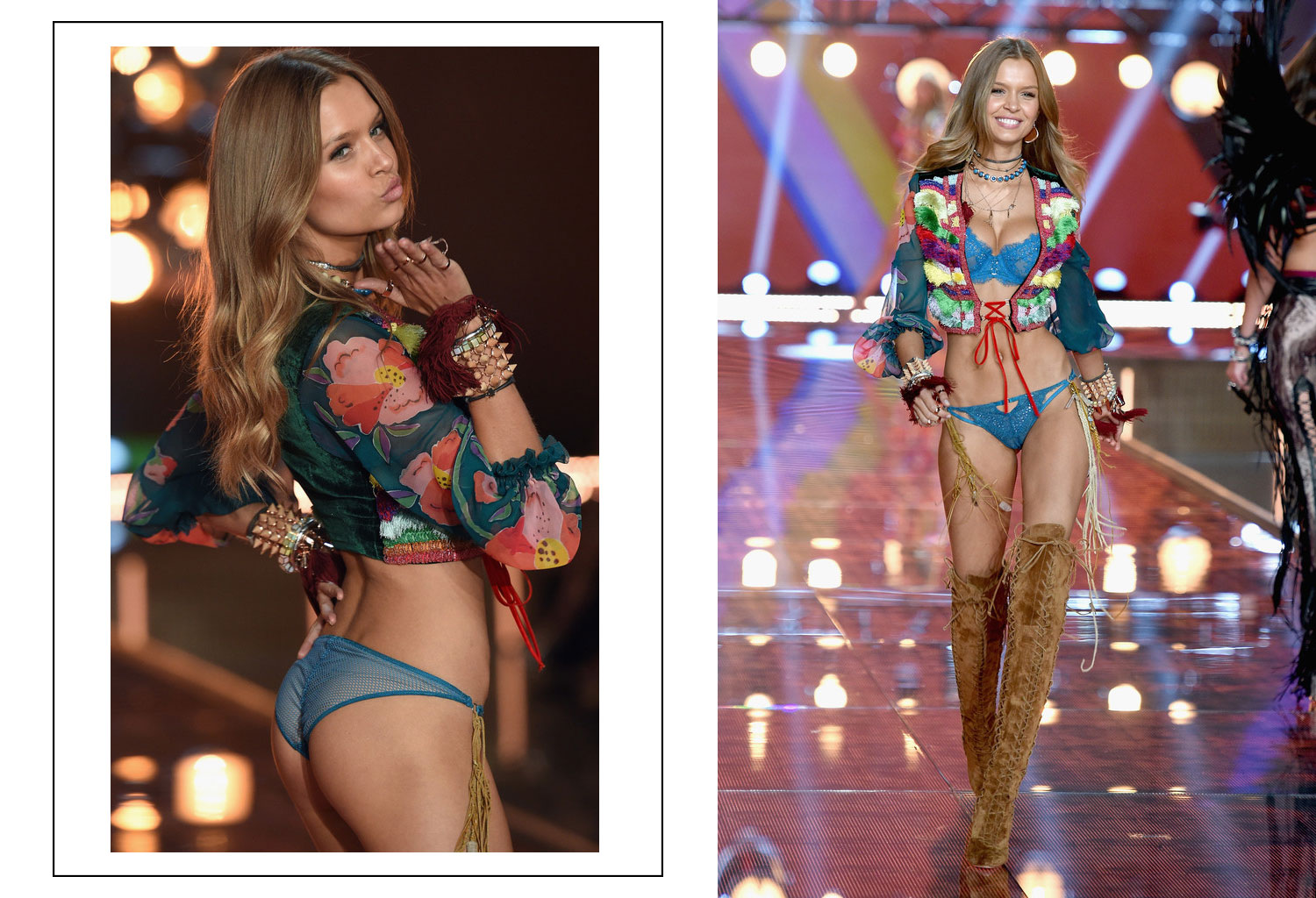 Victoria s Secret 2015 fashion show Josephine Skriver
