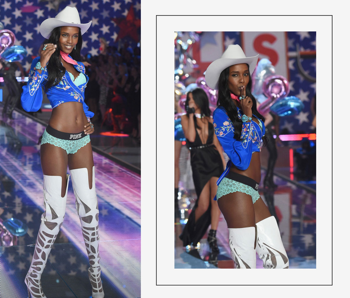 Victorias Secret 2015 fashion show Leila Nda