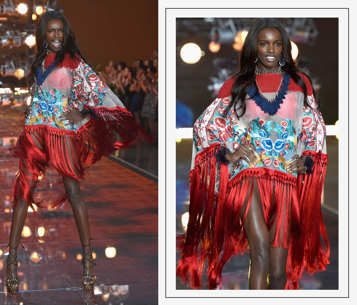 Victorias Secret 2015 fashion show Leomie Anderson