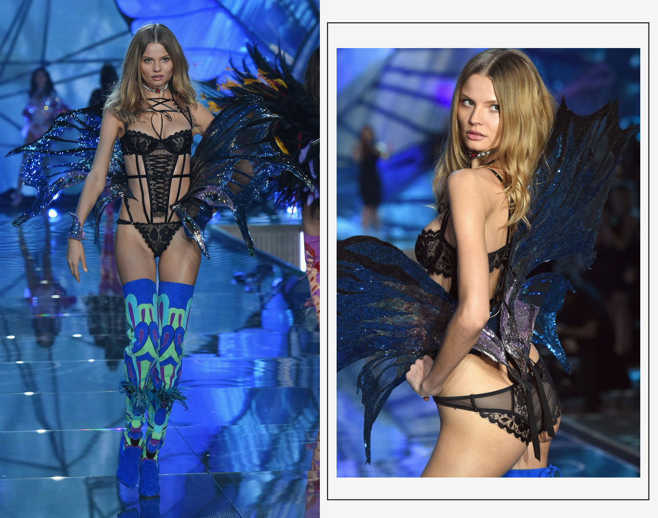 Victorias Secret 2015 fashion show Magdalena Fracksoviak