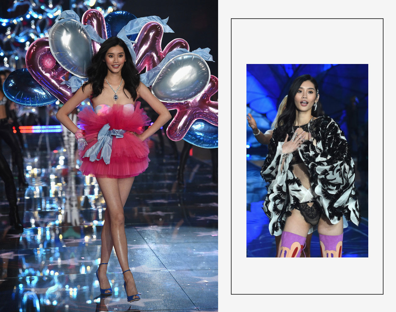 Victorias Secret 2015 fashion show Ming Xi