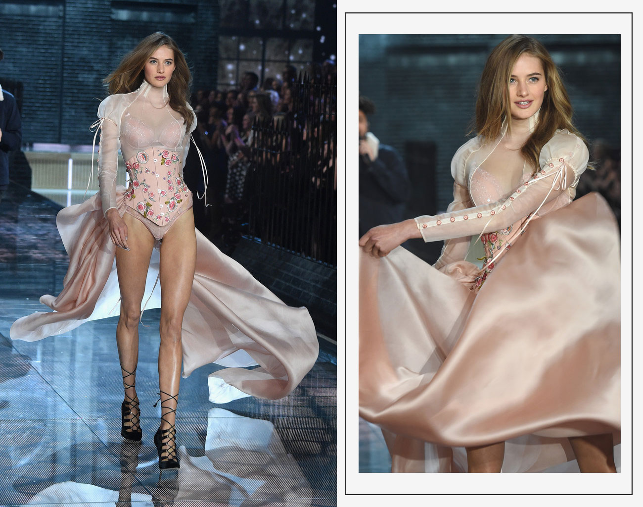 Victorias Secret 2015 fashion show Sanne Vloet