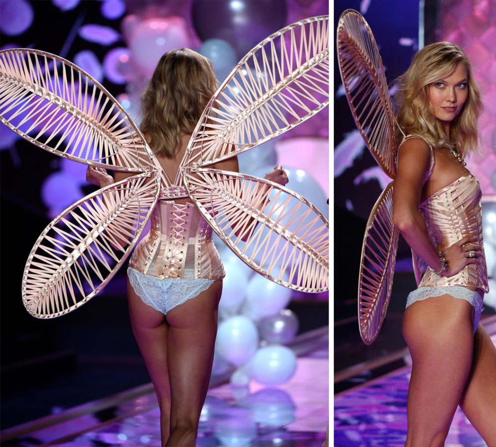 Victoria s Secret Fashion Show 2014 Karlie Kloss wings