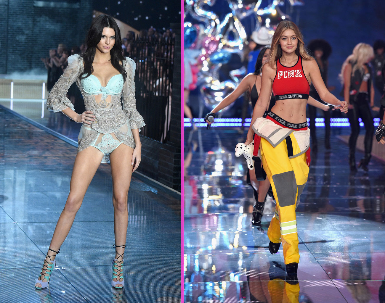 Victorias Secret fashion show 2015 newcomers Kendall Gigi