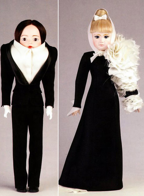 Viktor and Rolf doll black suit