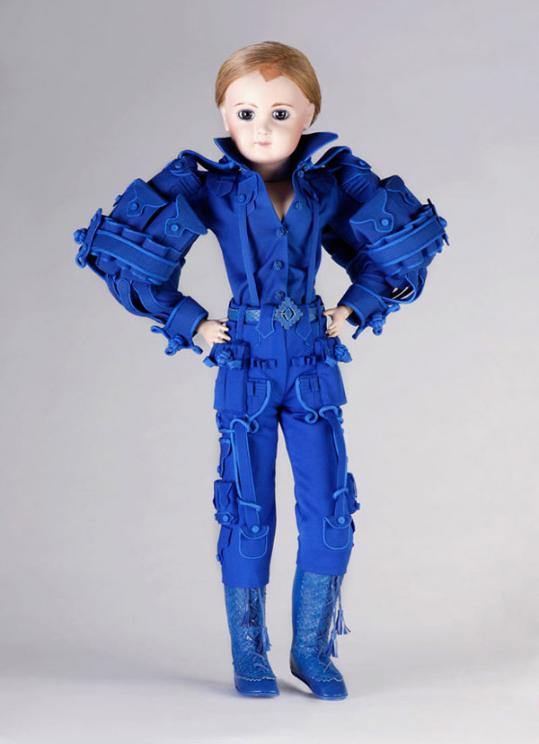 Viktor and Rolf doll blue