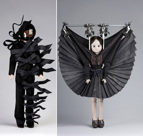 Viktor and Rolf doll double black
