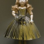 Viktor and Rolf doll gold