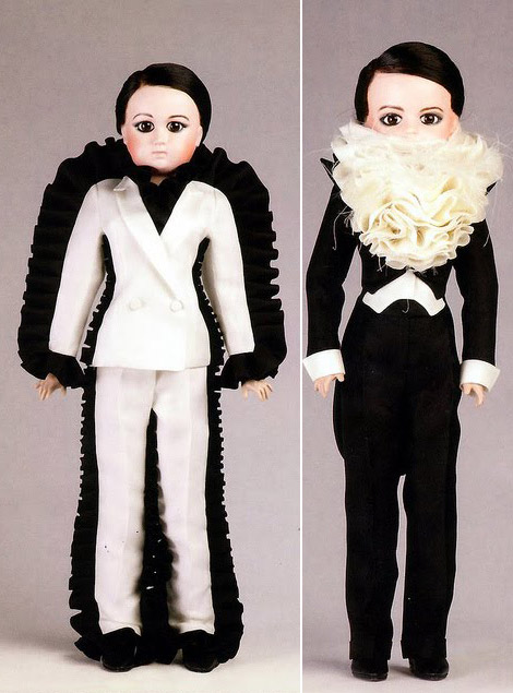 Viktor and Rolf doll suits
