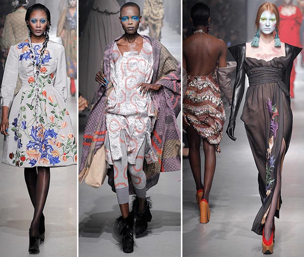 Vivienne Westwood fall 2013 collection highlights