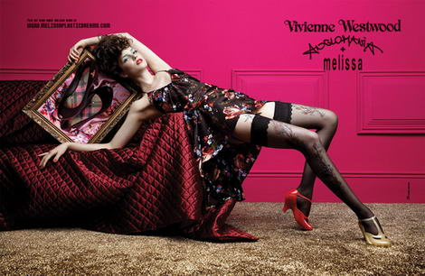 Vivienne Westwood Melissa ad campaign